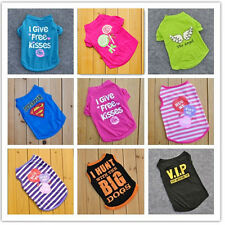 Fashion Various Pet Puppy Small Dog Cat Pet Clothes Vest Shirt Apparel Clothes