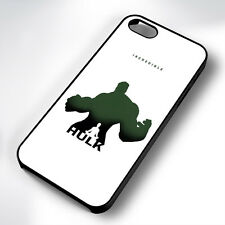 INCREDIBLE HULK RUBBER PHONE CASE COVER FITS IPHONE 4 5 6 7 (#BR)