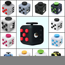 Fidget Cube Vinyl Desk Toy Children Desk Toy Adults Stress Relief Cubes ADHD UK