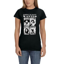 Americas Most Wanted Che Marcos Villa Zapata Revolution Womens T-Shirt Tee