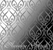 Large  Wall  Floral Stencil Home Decor Ctaft  Airbrush Pattern  Paint Art
