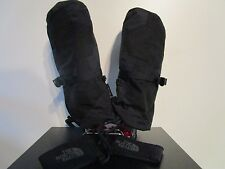 Mens The North Face TNF Waterproof Montana Mitten Ski Snowboard Gloves - Black