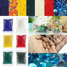 Colorful Water Plant Flower Jelly Hydro Gel Pearl Beads Balls Crystal Soil Mu