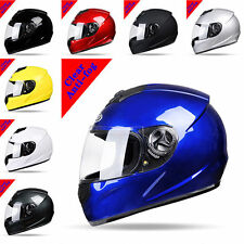 Unisex Adult DOT Motorcycle Street Full Face Motorbike Helmet with Visor FS945