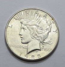 1923-S  Peace Dollar VERY NICE Silver Coin  NO RESERVE !!!