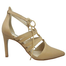 NEW SAVANA Womens Shoes Nude Heels Pumps Iris Shoes
