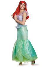 Womens Ultra Prestige The Little Mermaid Ariel Ball Gown Dress Costume