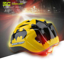 Children Bicycle Helmets Hero Style Safety Bike Night Light Cycling Kid Helmet