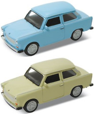 Trabant 601 Trabbi Scale 1:3 4 Metal Pull Back Original Welly Doors to Open