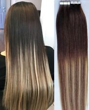 """18"""",20"""" 100g,40pc),BALAYAGE Ombre 100% Human Tape In Hair Extensions T2-6/613"""