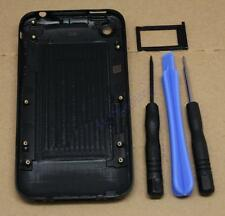 BLACK HOUSING BACK COVER SIM TRAY FOR IPHONE 3GS 3G TOOLS REAR REPLACEMENT CASE