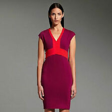 NWT NARCISO RODRIGUEZ DESIGNATION COLORBLOCK PONTE SHEATH DRESS M MEDIUM LIMITED