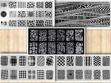 New Nail Art Stamping Plates DIY Stamp Stencil Polish Manicure Template