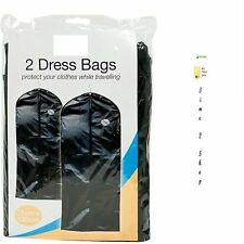 SUIT BAG DRESS CLOTHES BAGS TRAVEL PROTECTOR CARRIER GARMENT BAGS STORAGE