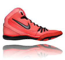 NIKE FREEK MENS WRESTLING SHOES BRIGHT CRIMSON / BLACK