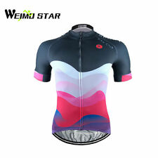 WEIMOSTAR Pro Team Mens Bike Sportwear Cycling Jersey Bike Short Sleeve Clothing