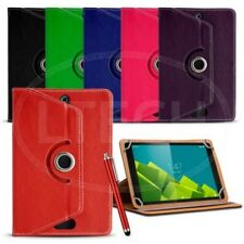 Fits Android 7 inch Tablet - Universal 360 Spin Rotate Case & Stylus Pen