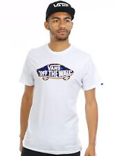 Vans White-Nautical Flags Off The Wall Logo Fill T-Shirt
