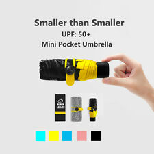 Umbrella Mini Pocket Compact Folding Sun Uv Rain 5 Light Anti Small New Travel