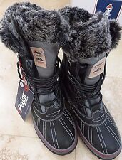 NWT Pajar Men & Woman Warm Lined Waterproof Leather Snow Boots