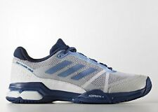 adidas Performance BARRICADE CLUB MEN'S TENNIS SHOES,WHITE/BLUE- US 12,13 Or 14