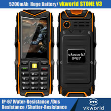 VKWorld V3 2.4'' IP67 Shockproof Phone Dual Sim Card Phones Outdoor Cell phone