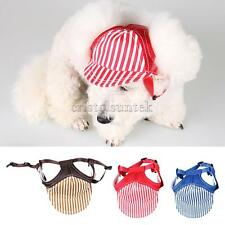 Fashionable Summer Pet Dog Cat Baseball Visor Hat Puppy Cap Outdoor Sunbonnet