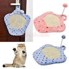 Pet Kitten Cat Scratcher Board Scratching Pad Scratch Cardboard Activity Toy Bed