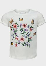 Nutmeg Girls Pretty T-Shirt/Top.   Age 12 Months - 6 Years  new