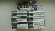29 PlayStation 2 games *PAL* GOOD CONDITION / COMPLETE / SEALED / SOME RARE