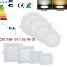21W 18W 15W 12W 9W Bright CREE LED Recessed Ceiling Light Bulb Lamp For Home Dec