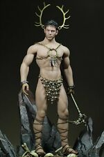 Phicen 1/6 Steel Skeleton Son Of The Forest Clothes Set With Cane For Body