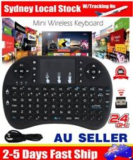 Smart Wireless Backlight i8 2.4G Keyboard Touchpad Android PC Mac TV BOX Mini BO