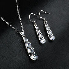 Rhinestones Crystal 1Pcs Earrings Drop Delicate Christmas Pendantes Dangling