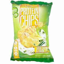 Quest Nutrition QUEST CHIPS 1Pack Of 32g, 21g Baked Protein - BBQ Or Sea Salt