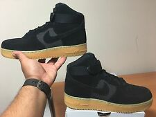 Nike Air Force 1 High LV8 Black Gum Light Brown NEW 806403-003 100% Authentic!!