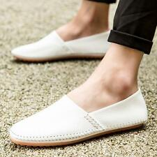 Men's Slip On Loafer Casual Moccasins Driving summer synthetic leather loafer