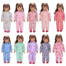 """Pajamas Nightgown Clothes Top & Pants for 18"""" American Journey Girl My Life Doll"""