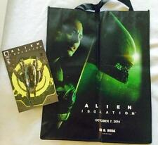 2014 SDCC San Diego Comic Con SWAG BAG TOTE & COMIC - ALIEN ISOLATION - NEW
