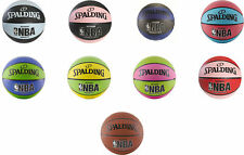 Spalding NBA Varsity Outdoor Rubber Basketball, 5 Colors, 2 Sizes