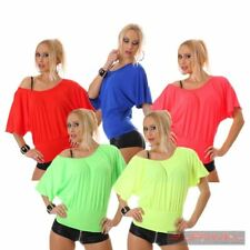 Womens NEW Short Sleeve Off Shoulder Casual Shirt Sexy Top Size 8-10 Party Wear