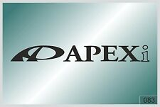 APEXI - sticker on car - HIGH QUALITY - different colors - №0083