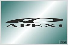 APEXI - sticker on car - HIGH QUALITY - different colors - №0084