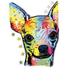 Chihuahua Puppy Dog Animal Pet Lovers Bright Colors Funny T-Shirt Tee