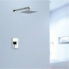 Concealed Shower Head Wall Mount Embedded Box Bathroom With Shower Bat 8in