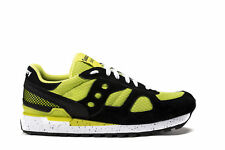 SAUCONY Mens Sneakers SHADOW ORIGINAL Green Fluo Fabric Trainers Shoes S70239-1