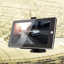 """Car 4.3/5/7"""" Touch Screen GPS Navigation FM 128MB 4GB +Western Europe Map"""