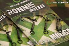 Gardner Tackle Ronnie Rigs / Chod Rig Pop Up Boilie Carp Fishing Method Barbed 6