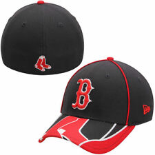 New Era Boston Red Sox Navy Blue/Red MLB Team Illusion 39THIRTY Flex Hat - MLB