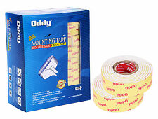 Oddy Double Sided Foam Mounting Tape Super Strong Adhesive Tape Box